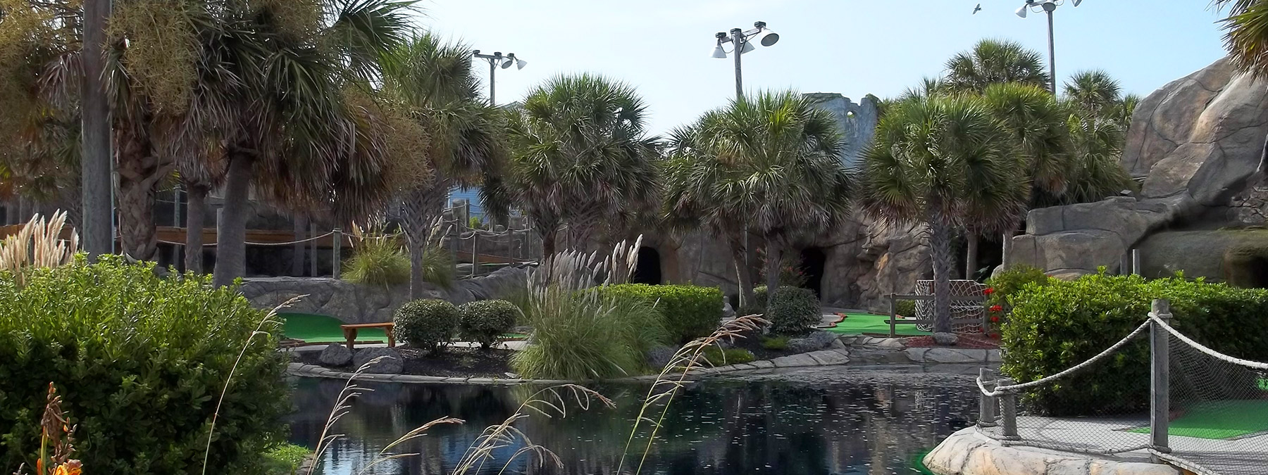 Salter Path Mini Golf Course